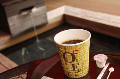 足湯×コーヒー×アイスクリーム
